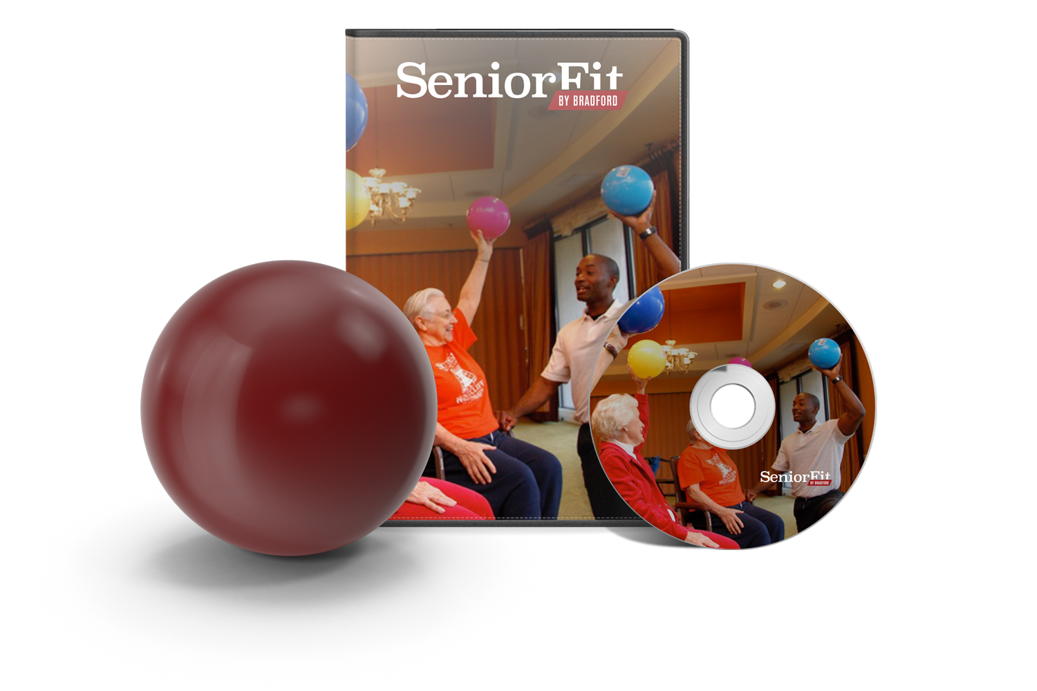 Senior Fit Atlanta DVD + Ball